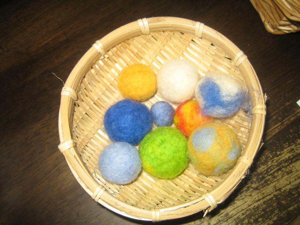手作り作品(ボール)